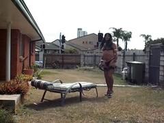 Sissy slut Becky whip my ass