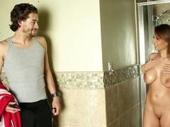 Breasty Alison Star seduces a dude