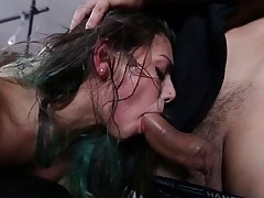 Hotty receives fucked and abused