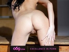 Jasmin is a sexy spoil with her dismal long hair and she is gifted with smooth milky white skin which is superior apropos increase the heart beat of any str8 guy. This dismal brown spoil is making wicked posses and as well as softly touching her entire bo