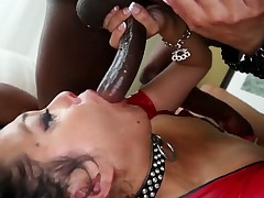 Oriental D-Snoop has blowjob experience of her lifetime with hard cocked dude