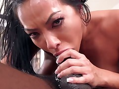 Moe The Monster Johnson loves getting her face drilled by horny bang buddy