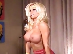 Ashley Lawrence - Latex Wonder Woman