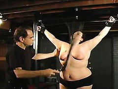 Nipple torture for that girl