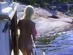 Hot Swedish vintage orgy video