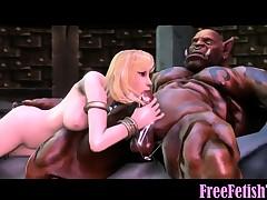 3D Huge Hulk Fucks Petite Little Blonde Loli - FreeFetishTVcom