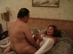 Chuy Bravo is a chunky frying midget and this chab just got a complying piece of ass. Look at him fooling around with this cute slut that has a very complying ass, complying legs, small milk shakes and a hairy cum asking pussy. This chab fucks her cunt wi