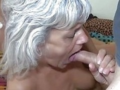 Nanny Diana and will not hear of cute unlit girl are sharing a hard cock this time. Our granny likes young cunts just as much as she likes a big hard cock in will not hear of mouth so in the present climate she`s receiving both. As the unlit eats will not