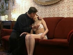 Dictatorial Taboo. Father &,#039,dad&,#039, on every side his unshaded at home sex